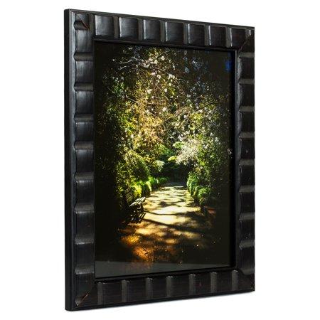 Craig Frames Mosaic, Erie Black Picture Frame, 5 x 7 Inch
