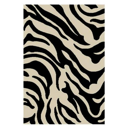 Zebra Animal Print Tote - Well Woven Madison Shag Safari Zebra Animal Print Area Rug