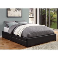 Stylish And Comfortable Queen Size Bed, Black