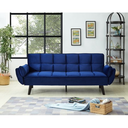 Sofa Bed Velvet Fabric multi colors Multi Fabric Sofa