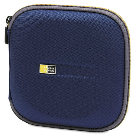 Case Logic Molded Eva Cd Dvd Wallet  Holds 24 Discs  Blue