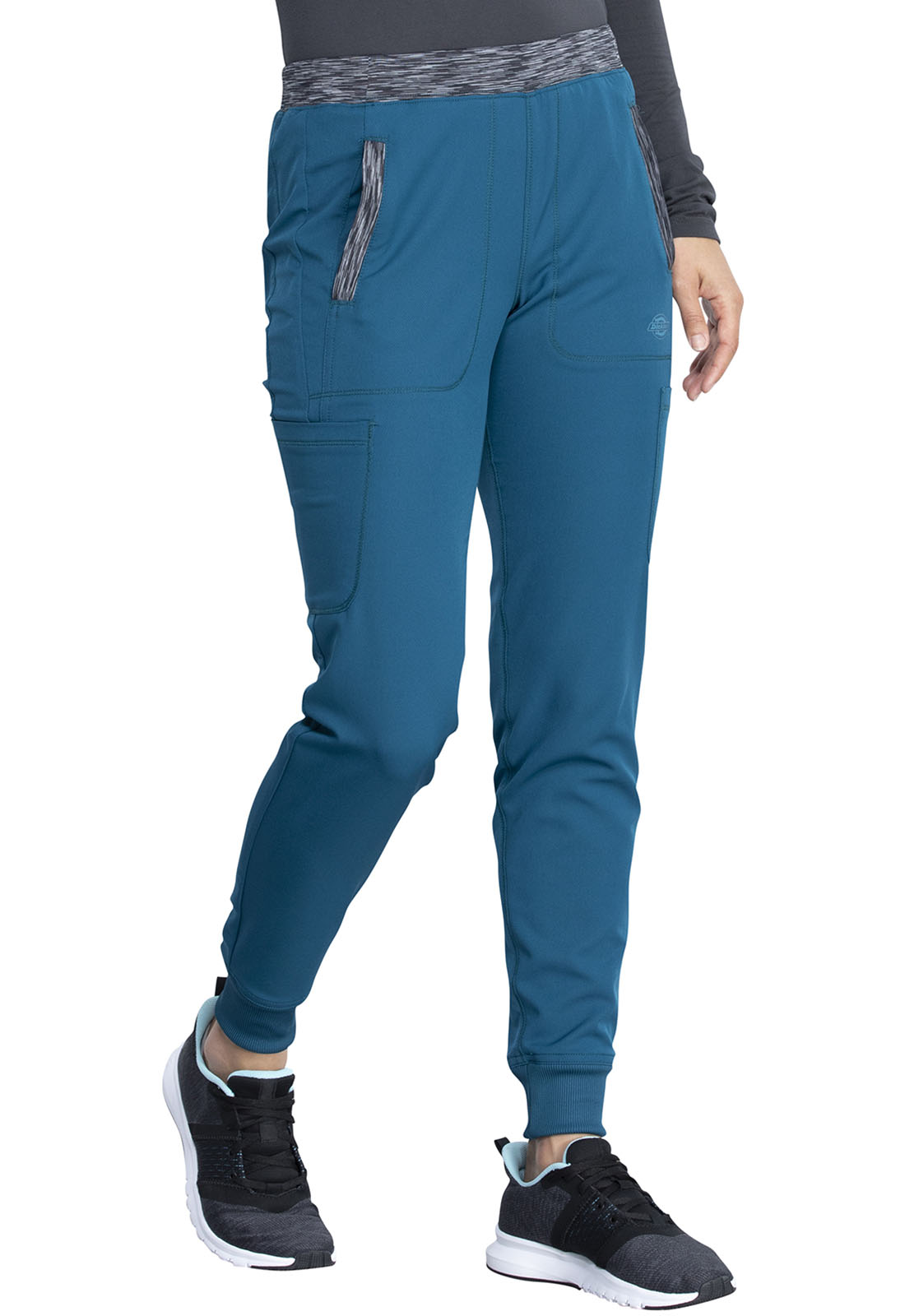 Details about  /Dickies Dynamix Women Natural Rise Tapered Leg Jogger Pant DK185P FREE SHIPPING!