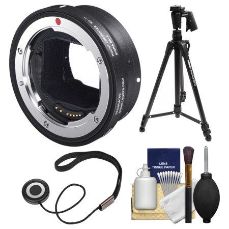 Sigma MC-11 Mount Converter (Canon EOS EF to Sony Alpha E-Mount) with 61\