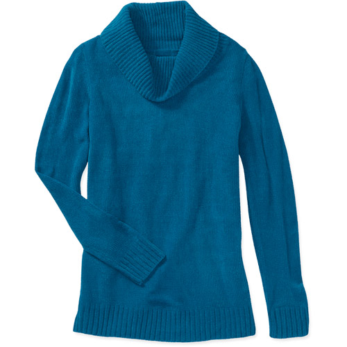 White Stag Women's Cowl Neck Sweater