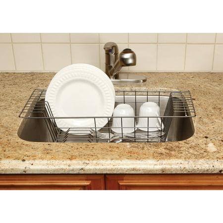 Onyx Dish Drainer Walmartcom - Kitchen sink drainer