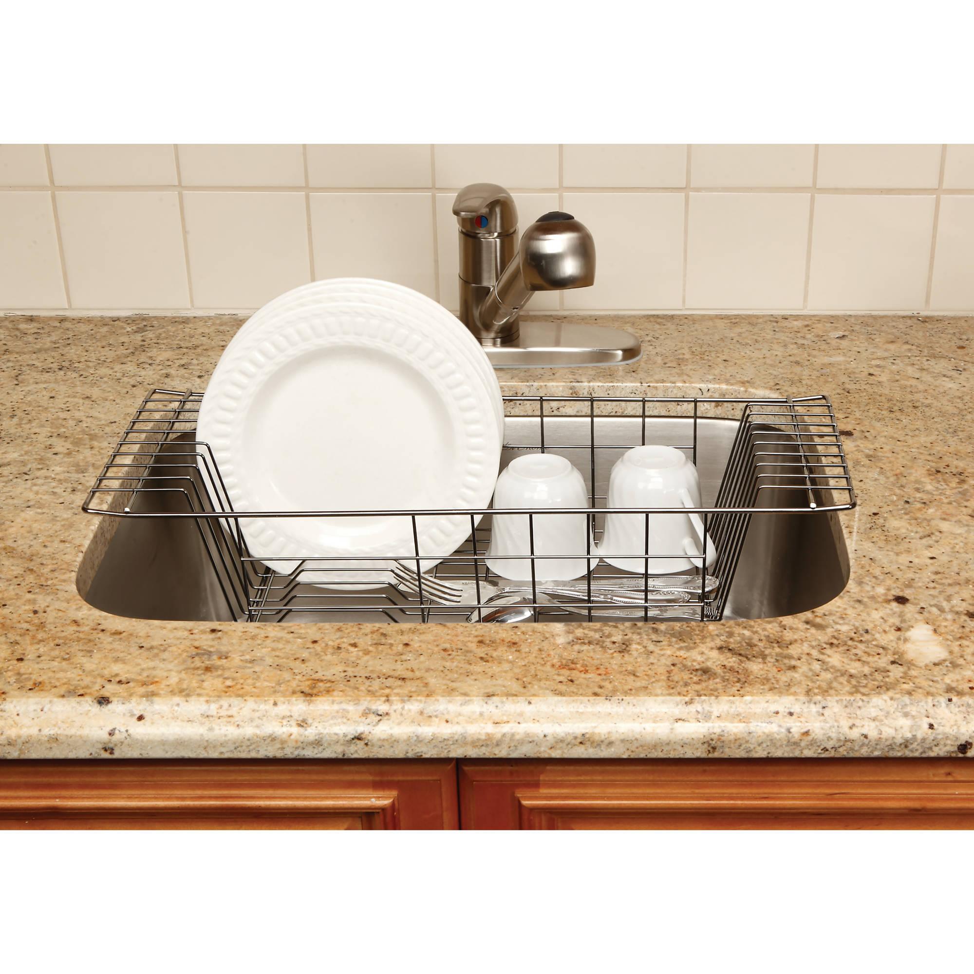 Kitchen Details Onyx Dish Drainer