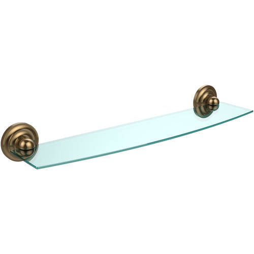 "Prestige Que New Collection 24"" Glass Shelf (Build to Order)"