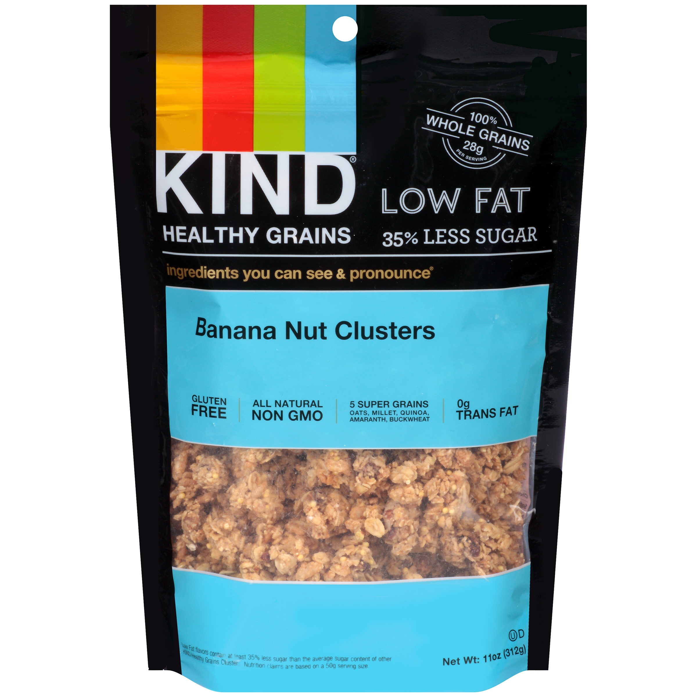 KIND Banana Nut Clusters 11 oz. Pouch by Kind