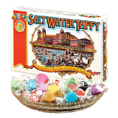Taffy Town Salt Water Taffy Gift Box, 14 oz. (Best Salt Water Taffy Ocean City Nj)