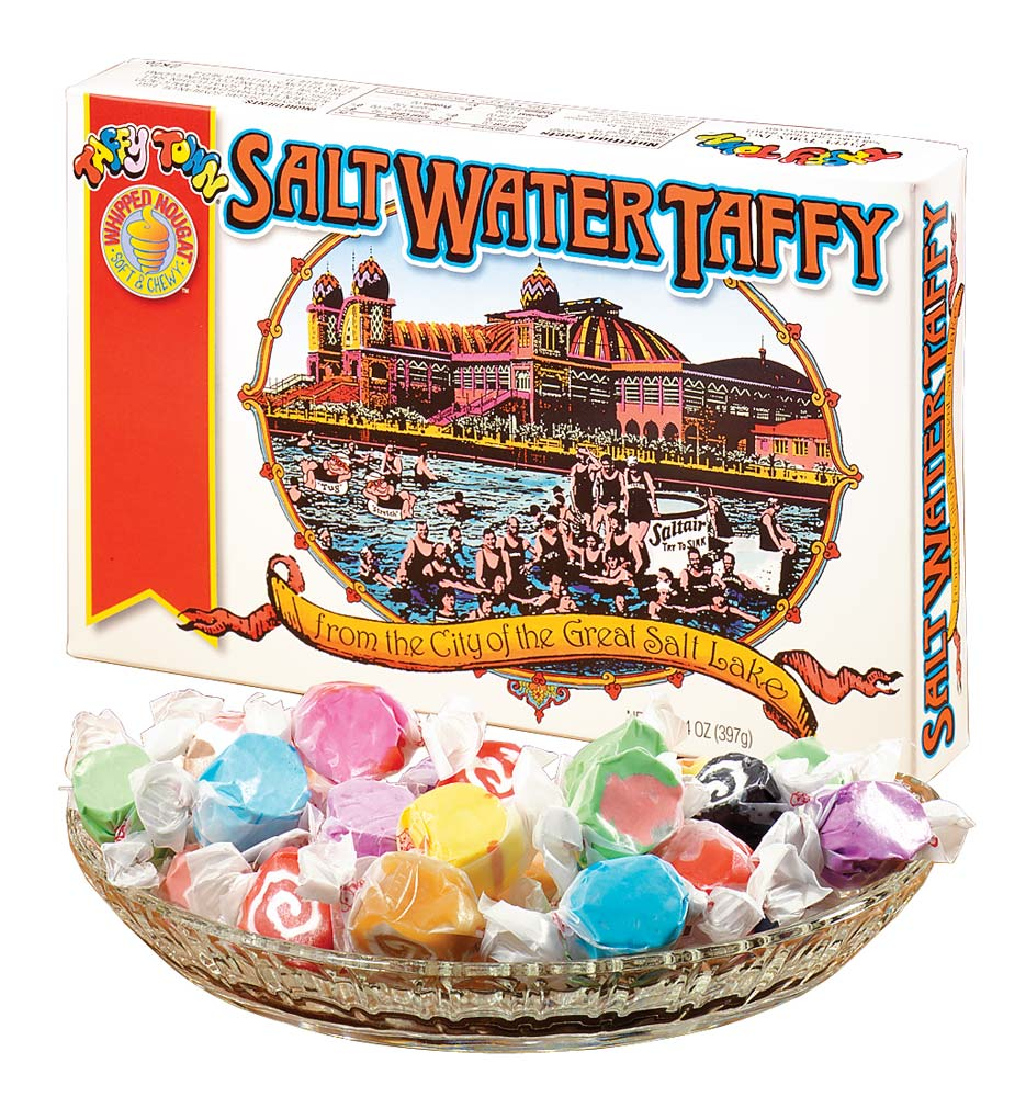 Taffy Town Salt Water Taffy Gift Box, 14 oz.