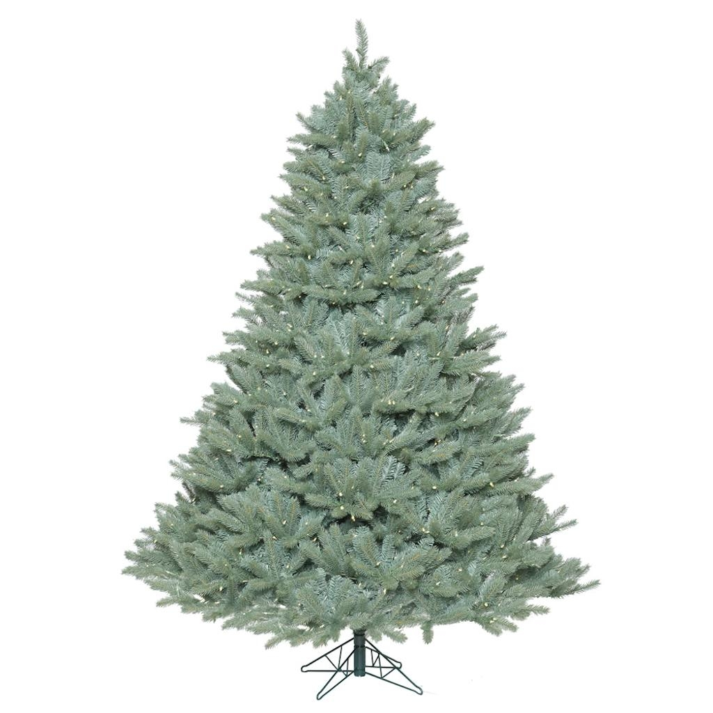 "Vickerman 408551 - 12' x 94"" Colorado Blue Spruce Tree with 2,650 Warm White LED Lights Christmas Tree (A164791LED)"