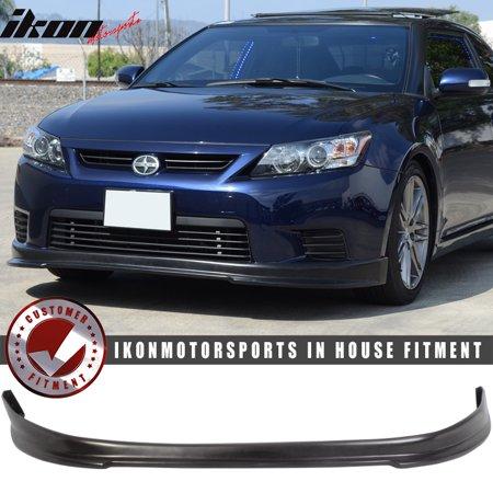 Fits 11-13 Scion tC 2Dr Coupe RS Style Front Bumper Lip Spoiler - Urethane PU (2dr Factory Style Spoiler)