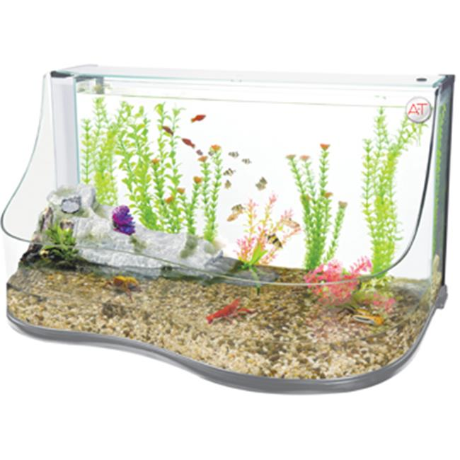 Penn Plax REPTT3 Aquarium Water Pool with Cascading Water...