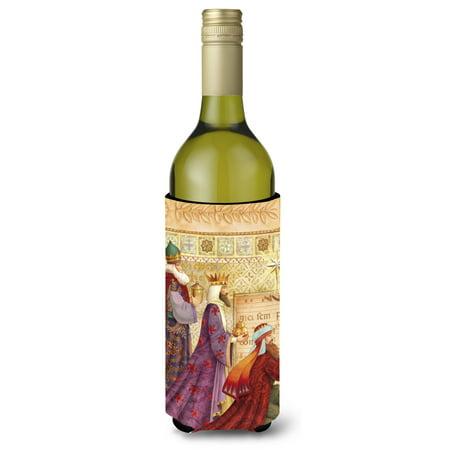 Christmas Three Wise Men Wine Bottle Beverage Insulator Hugger APH7603LITERK (3 Wise Men Gifts)