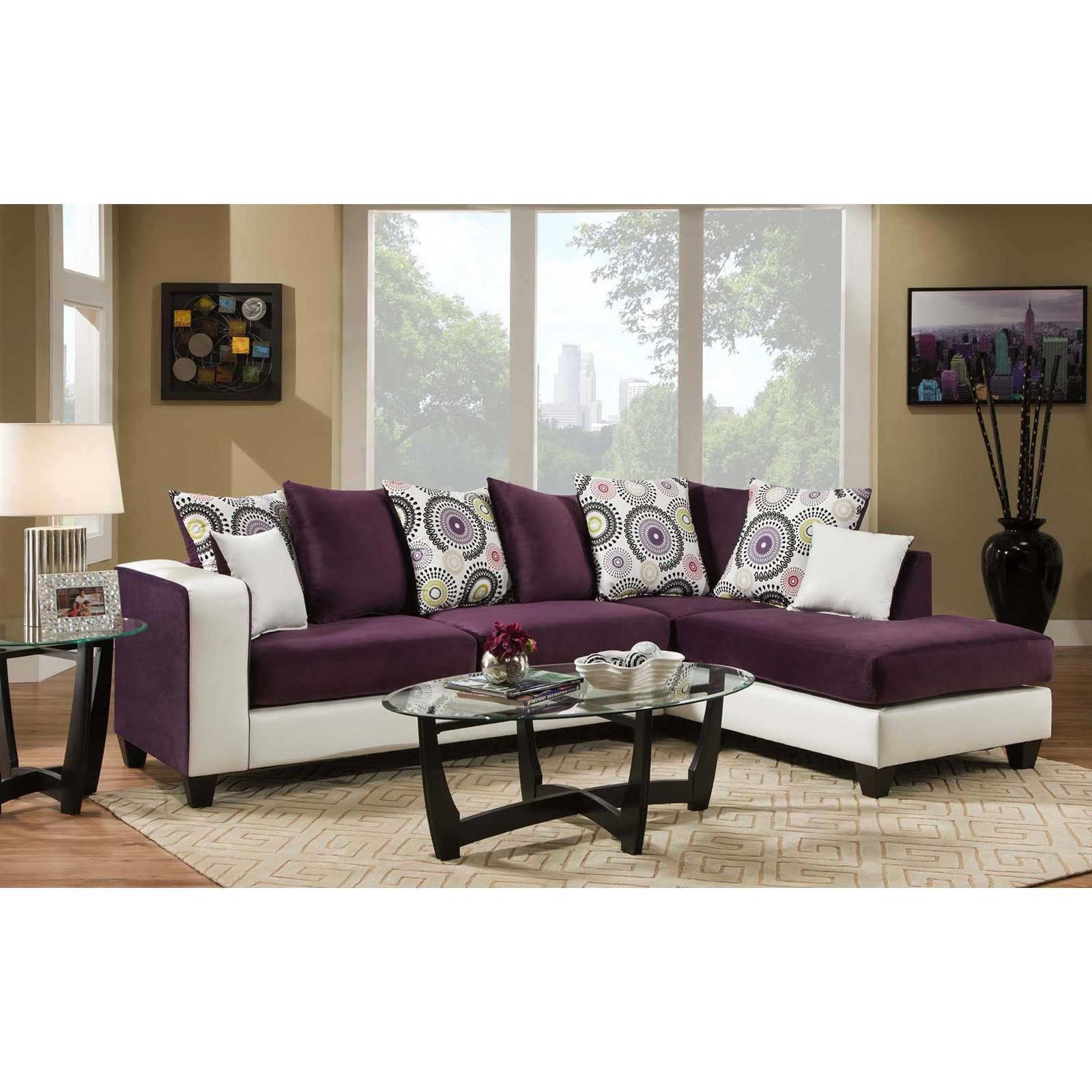 Chelsea Home Furniture Ame Sectional Sofa
