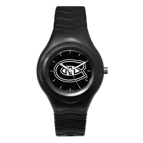 NHL - Montreal Canadiens Shadow Black Sports Watch with White Logo