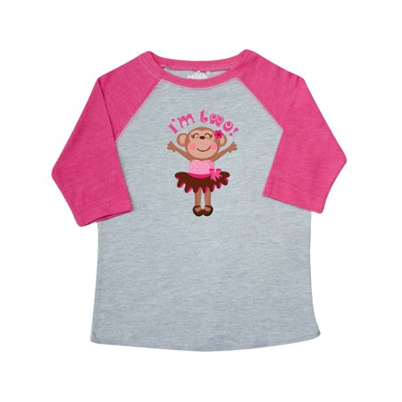 Birthday Shirts For Toddlers (Monkey 2nd Birthday Gift For Girl Toddler)
