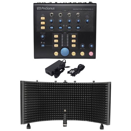 - Presonus Monitor Station V2 Studio Control Center/Speaker Selector+Vocal Shield