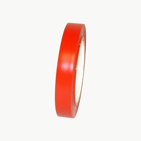 JVCC V-36P Premium Colored Vinyl Tape: 3/4 in. x 36 yds. (Red)