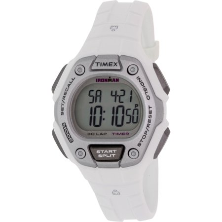 Women's Ironman Classic 30 Mid-Size Watch, White Resin Strap