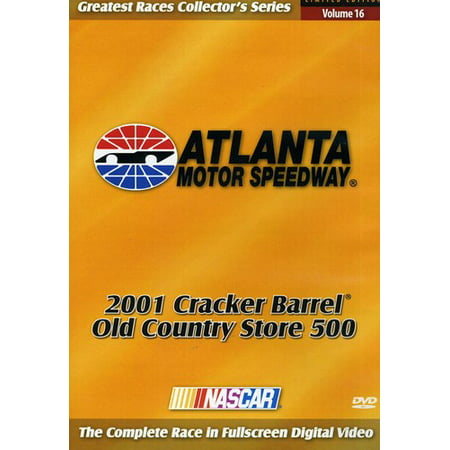 Nascar: 2001 Atlanta: Cracker Barrel 500 (DVD)