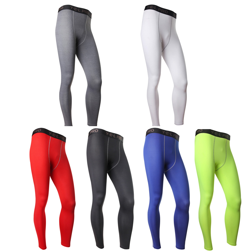 Men COMPRESSION Base Layer Trousers Long Pants Tight Under Skin Sports Bottom by