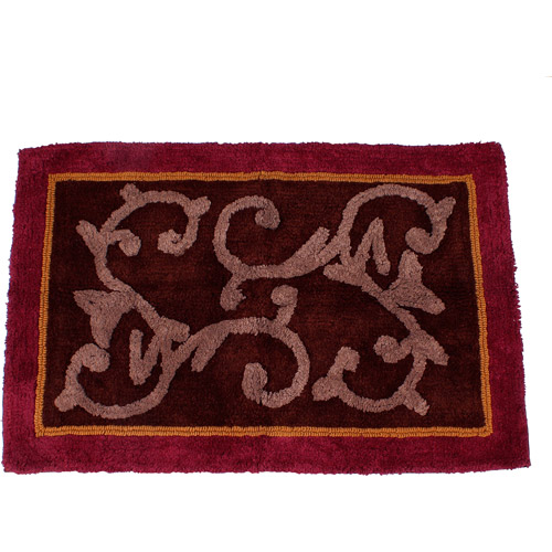 butterfly blessings bath rug 1 8 5 quot x 2 6 quot walmart