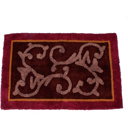 butterfly blessings bath rug red 1 39 8 5 x 2 39 6