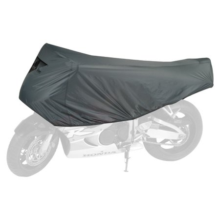 Guardian By - Travel Ready - Premium Motorcycle Half Cover - 2 Year Limited Warranty - Water Resistant - UV Protection - Gray - Sportbike [.., By Dowco (Guardian Motorcycle Cover Alarm)