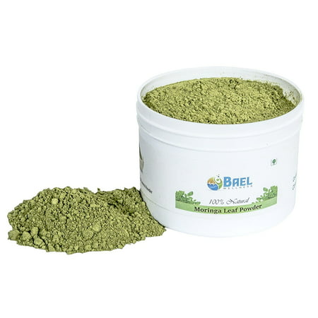 Bael Wellness Moringa Leaf Powder. Rich Source of Plant-based Protein, Iron, Vitamin A, E & K, Calcium & Iron. All Essential Amino Acid, High in Anti-oxidant. Natural and Organic