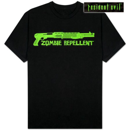 Resident Evil - Zombie Repellent Apparel T-Shirt - Black