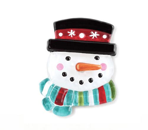 Demdaco Light Up Snowman Glass Fusion Pop-In