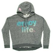 Enjoy Life Junk Food Vintage Style Juniors Hoodie Hooded Sweatshirt