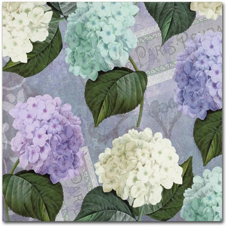 Trademark Fine Art Hortensia Lavenders Canvas Art By Color Bakery - Color-hortensia