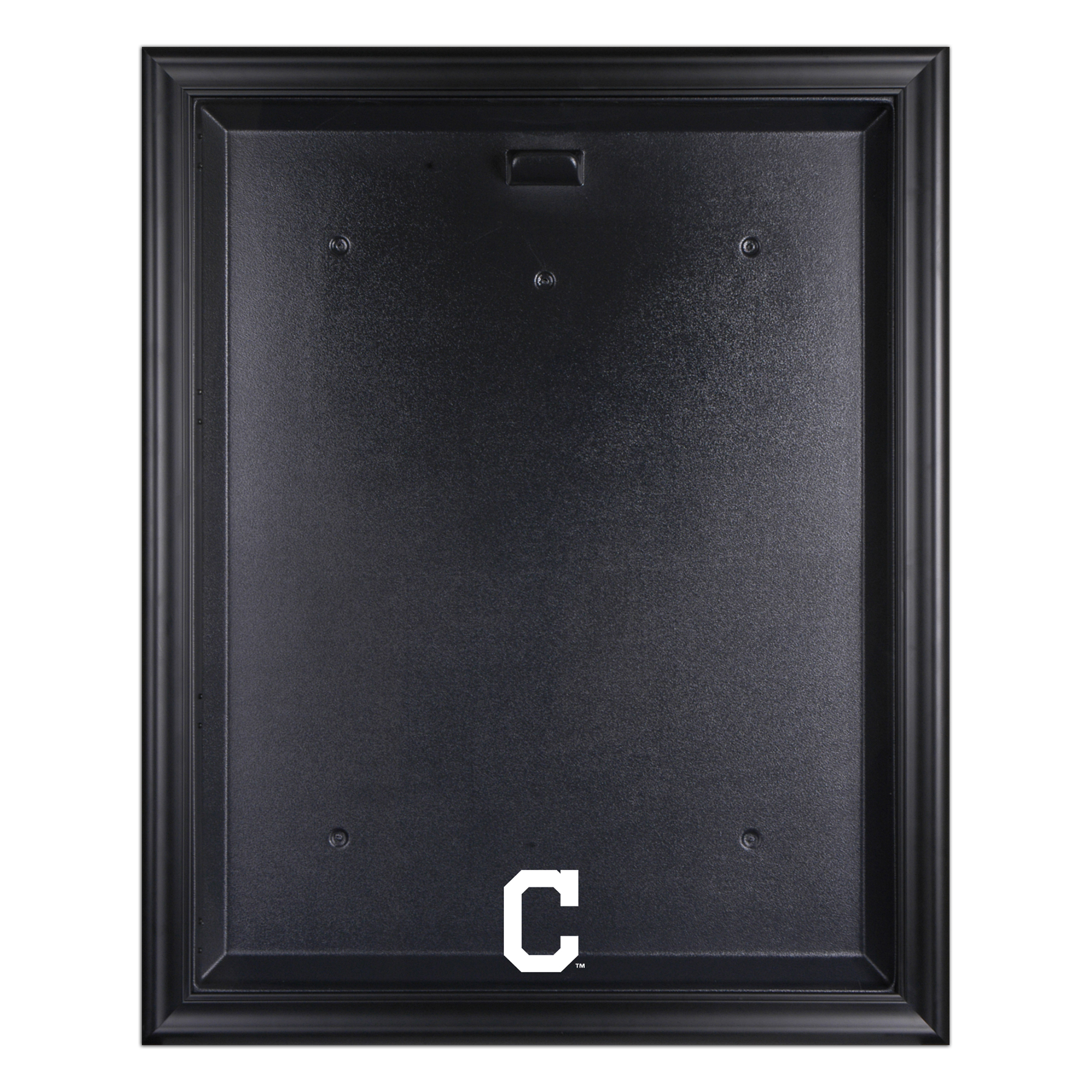 Cleveland Indians Fanatics Authentic Black Framed Logo Jersey Display Case - No Size