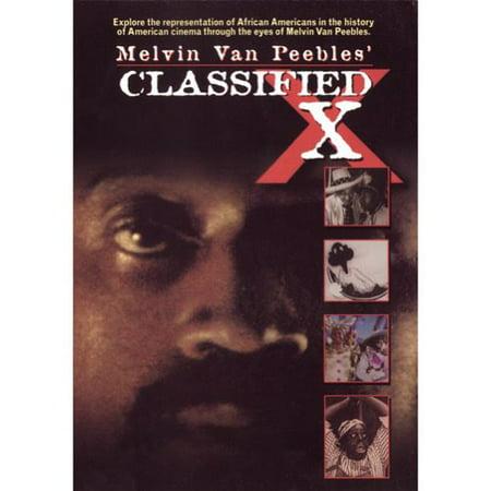 Melvin Van Peebles Classified X