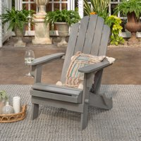 Manor Park Outdoor Acacia Wood Adirondack Chair, Multiple Colors