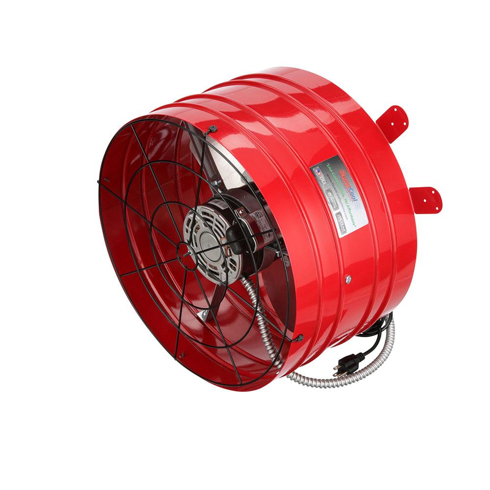 Quietcool Smart Energy Efficient Attic 3013 Cfm Gable Fan