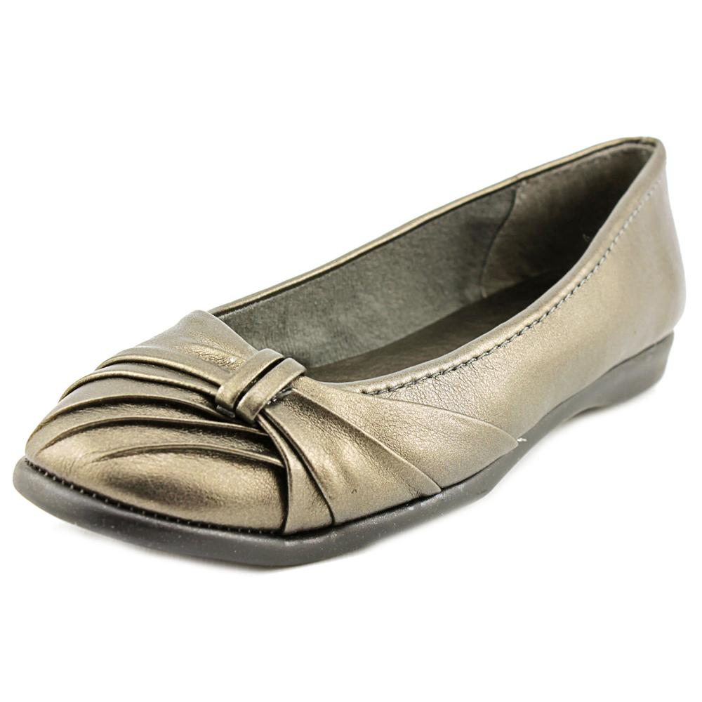 Easy Street Giddy N S Round Toe Synthetic Flats by Easy Street
