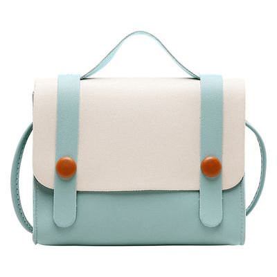 AkoaDa Ms. Contrast Color Spring and Summer New Products Messenger Handmade Small Bags