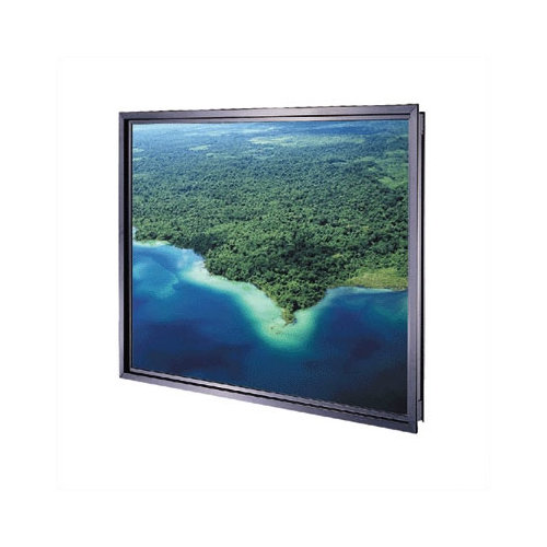 Da-Lite Polacoat Ultra Series Rigid Rear Fixed Frame Projection Screen