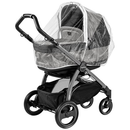 USA Rain System for Book Pop Up Stroller, Includes two rain covers one for the stroller seat and the other for the bassinet By Peg (City Select Stroller Peg Perego Car Seat)