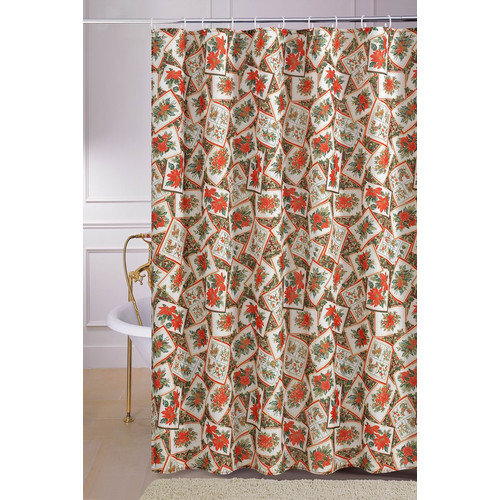 Christmas Shower Curtains Walmart Polka Dots Shower Curtai