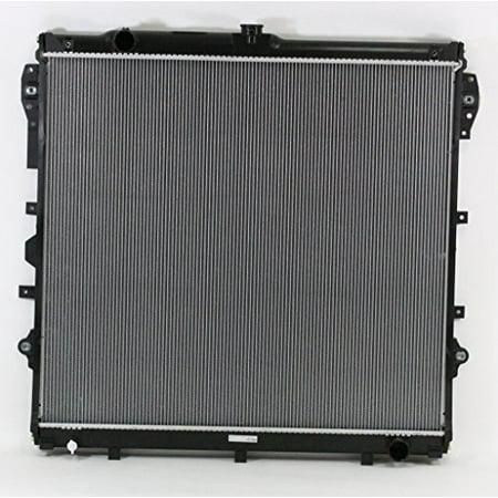 Radiator - Pacific Best Inc For/Fit 2992 07-09 Toyota Tundra 08-09 Sequoia 4.7L Plastic Tank Aluminum