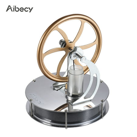 Aibecy Low Temperature Stirling Engine Motor Model Heat Steam Education Toy DIY - Toy Engine Kit