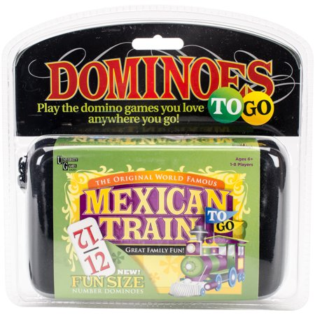 Mexican Train Dominoes To Go (Dominos Gift)