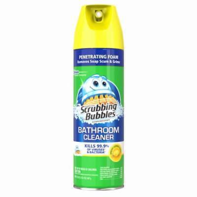 - 22 OZ Scrubbing Bubbles Lemon Scent Aerosol Antibacterial 2PK