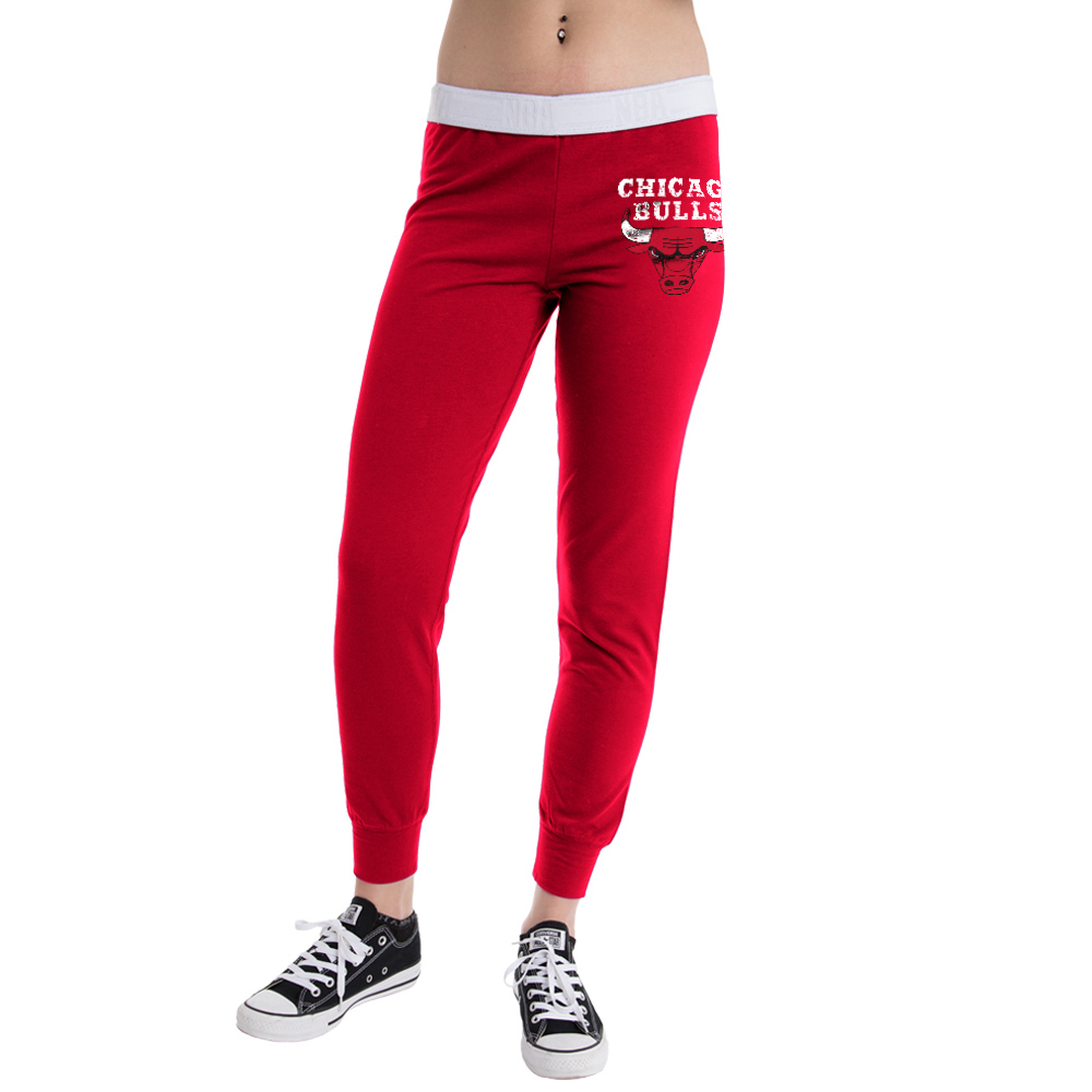 Chicago Bulls Women's NBA French Terry Pant