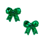 Expo Int'l Bows Sequin Applique Pack of 2