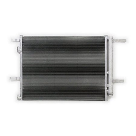 A-C Condenser - Pacific Best Inc For/Fit 4214 Ford Fusion 2.5L Lincoln MKZ 3.7L 5 mm w/Receiver & Dryer Parallel Flow